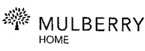 Mulberry home trademark of mulberry company design for Household design limited