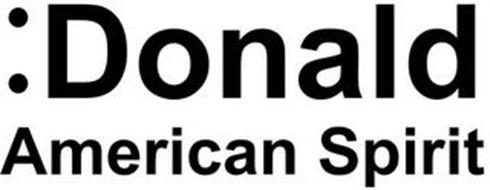:DONALD AMERICAN SPIRIT