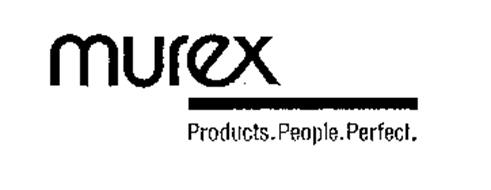 MUREX PRODUCTS.PEOPLE.PERFECT.