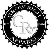 GROW RICH APPAREL GR EST. 2016 APPAREL
