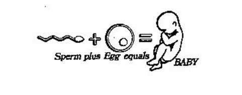 SPERM PLUS EGG EQUALS BABY