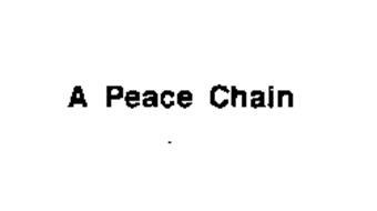 A PEACE CHAIN