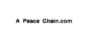 A PEACE CHAIN.COM