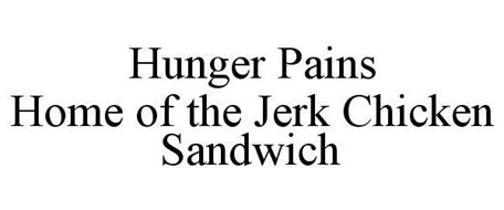 HUNGER PAINS HOME OF THE JERK CHICKEN SANDWICH