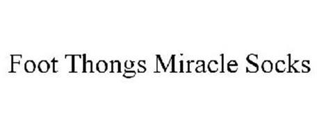 FOOT THONGS MIRACLE SOCKS