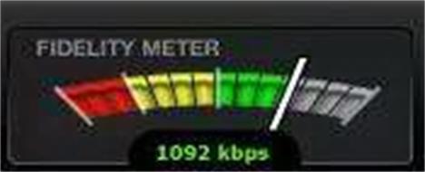 FIDELITY METER 1092 KBPS
