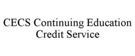CECS CONTINUING EDUCATION CREDIT SERVICE