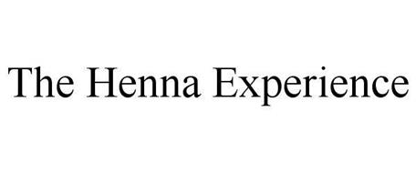 THE HENNA EXPERIENCE