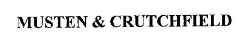 MUSTEN & CRUTCHFIELD