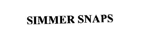 SIMMER SNAPS