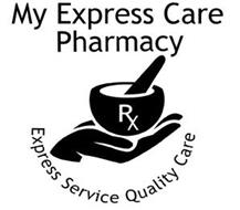 MY EXPRESS CARE PHARMACY EXPRESS SERVICE QUALITY CARE RX