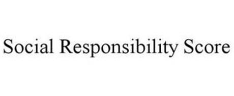 SOCIAL RESPONSIBILITY SCORE