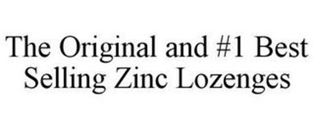 THE ORIGINAL AND #1 BEST SELLING ZINC LOZENGES