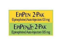 EPIPEN 2-PAK EPIPEN JR 2-PAK (EPINEPHRINE) AUTO-INJECTORS 03 MG 015 MG