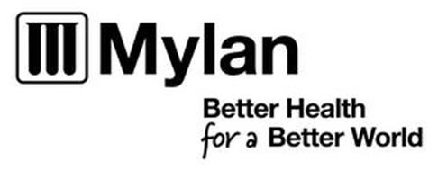 M MYLAN BETTER HEALTH FOR A BETTER WORLD