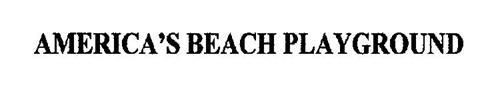 AMERICA'S BEACH PLAYGROUND