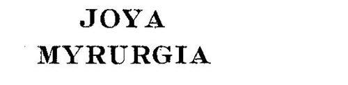 JOYA MYRURGIA