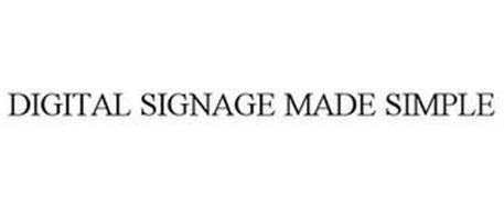 DIGITAL SIGNAGE MADE SIMPLE