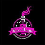HAIRMAGIC POWERFUL PRODUCTS FOR POWERFUL PEOPLE