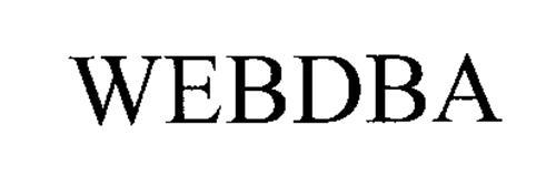 WEBDBA