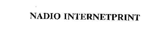NADIO INTERNETPRINT