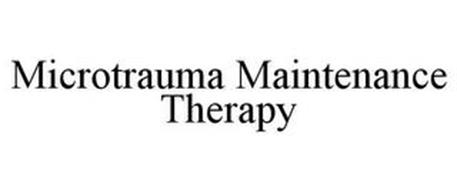 MICROTRAUMA MAINTENANCE THERAPY