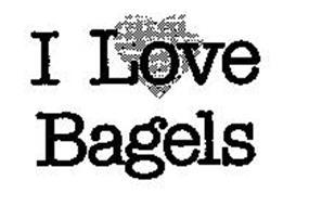 I LOVE BAGELS