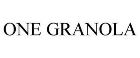 ONE GRANOLA