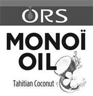 ORS MONOI OIL TAHITIAN COCONUT