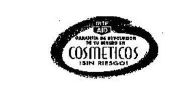 RITE AID GARANTIA DE DEVOLUCION DE TU DINERO EN COSMETICOS ISIN RIESGO!