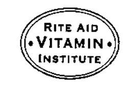 RITE AID VITAMIN INSTITUTE