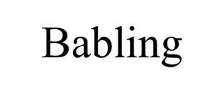 BABLING