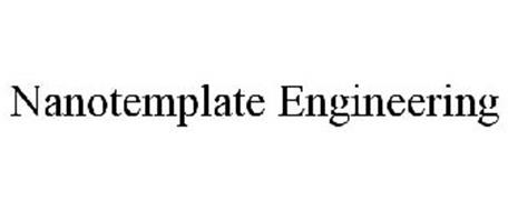 NANOTEMPLATE ENGINEERING