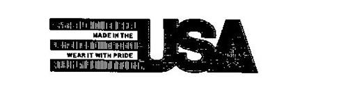 MADE IN THE USA WEAR IT WITH PRIDE