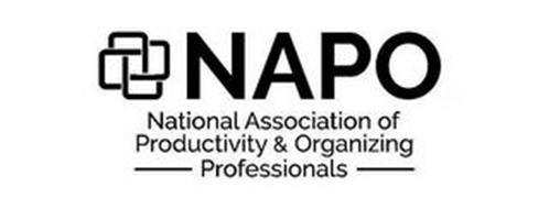 NAPO NATIONAL ASSOCIATION OF PRODUCTIVITY & ORGANIZING PROFESSIONALS