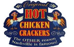 ORIGINAL HOT CHICKEN CRACKERS THE OTHERREASON NASHVILLE IS FAMOUS!