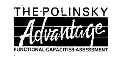 THE-POLINSKY ADVANTAGE FUNCTIONAL-CAPACITIES-ASSESSMENT