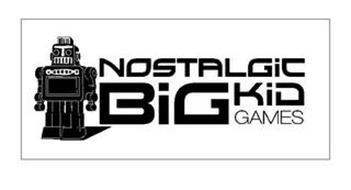 NOSTALGIC BIG KID GAMES