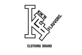 KF KIK 'N FLAVVORS. CLOTHING BRAND