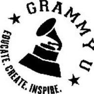 GRAMMY U EDUCATE. CREATE. INSPIRE.
