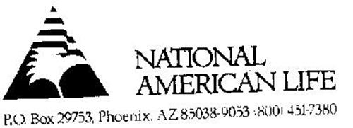 NATIONAL AMERICAN LIFE Trademark of National American Life ...