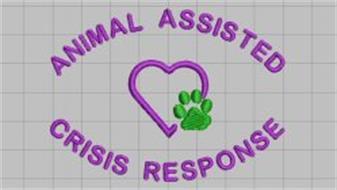 ANIMAL ASSISTED CRISIS RESPONSE