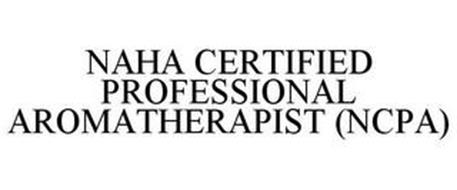 NAHA CERTIFIED PROFESSIONAL AROMATHERAPIST (NCPA)