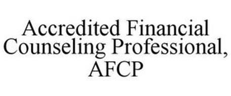 ACCREDITED FINANCIAL COUNSELING PROFESSIONAL, AFCP