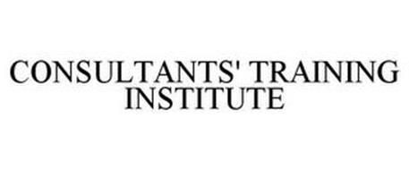 CONSULTANTS' TRAINING INSTITUTE