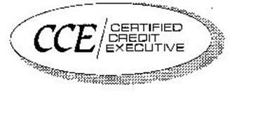 CCE CERTIFIED CREDIT EXECUTIVE