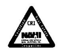 NAHI CRI NATIONAL ASSOCIATION OF HOME INSPECTORS, INC. CERTIFIED REAL ESTATE INSPECTOR