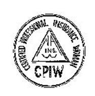 CPIW CERTIFIED PROFESSIONAL INSURANCE WOMAN NA INS. W