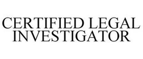 CERTIFIED LEGAL INVESTIGATOR