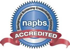 NAPBS BACKGROUND SCREENING CREDENTIALING COUNCIL ACCREDITED